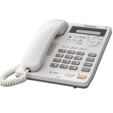 Telefon analogic PANASONIC KX-TS620FXW, alb, cu fir