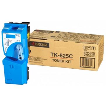 Toner, cyan, 7000 pagini, KYOCERA TK-825C