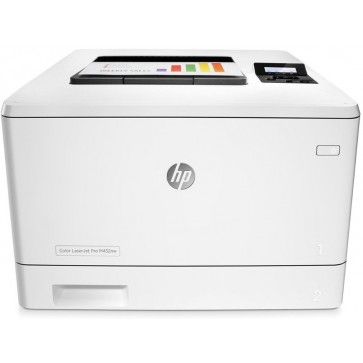 Imprimanta laser color HP LaserJet Pro M452nw, A4, USB, Retea, Wi-Fi, Duplex