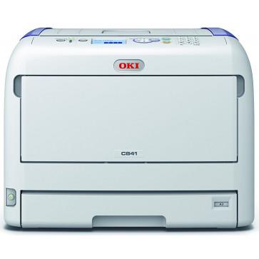 Imprimanta laser color LED OKI C841dn, A3, USB, Retea, Duplex