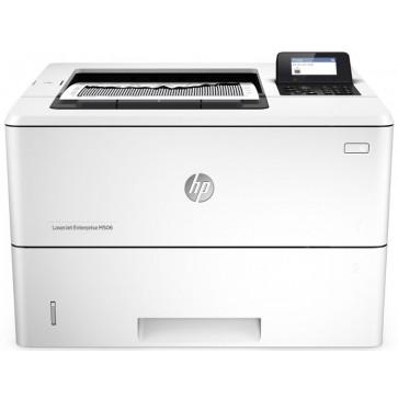 Imprimanta laser monocrom HP LaserJet Enterprise M506dn, A4, USB, Retea, Duplex