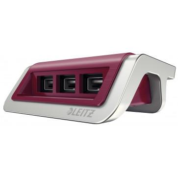 Incarcator cu trei porturi USB, grena, Leitz Style