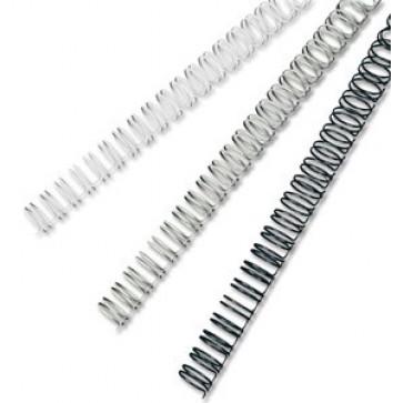 Inele din metal pentru indosariere, 6mm, negru, 100 bucati/cutie, FELLOWES