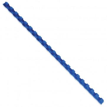 Inele din plastic pentru indosariere, 10mm, albastru, 100 buc./set, GBC