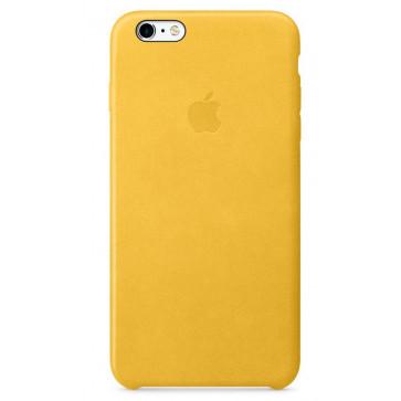 Husa de protectie APPLE pentru iPhone 6s Plus, Piele, Marigold