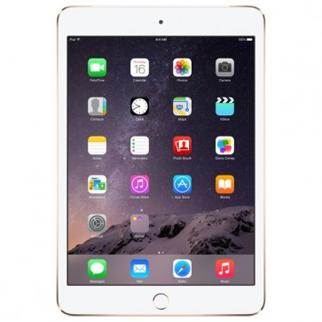 "Apple iPad mini 3 16GB cu Wi-Fi, Dual Core A7, Ecran Retina 7.9"", Gold"