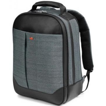 Rucsac pentru laptop, din piele de bovina si textil, antracit, FEDON 1919 Jazz Backpack
