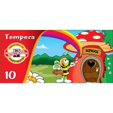 Tempera 10 culori/set, KOH-I-NOOR Bees