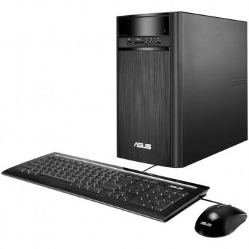 Desktop PC ASUS K31AN Tower, Procesor Quad Core Intel® Pentium® J2900 2.41GHz Bay Trail, 4GB, 1TB, GMA HD, FreeDos, Black