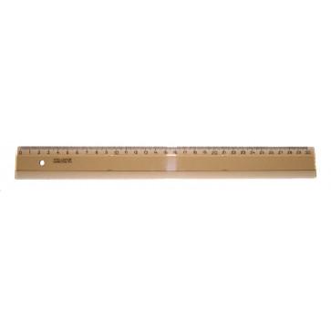 Rigla din plastic, fumuriu, 30cm, KOH-I-NOOR