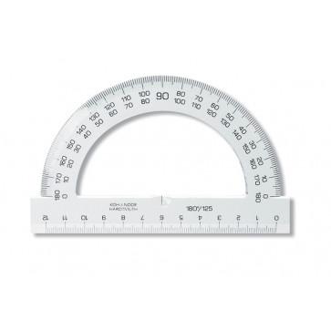 Raportor din plastic, 180º / 125mm, KOH-I-NOOR