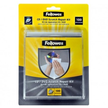 Kit pentru reparare CD/DVD-uri, FELLOWES