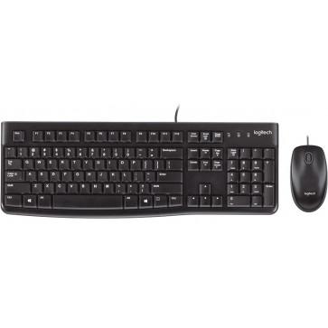Kit Tastatura + Mouse LOGITECH Desktop MK120, cu fir