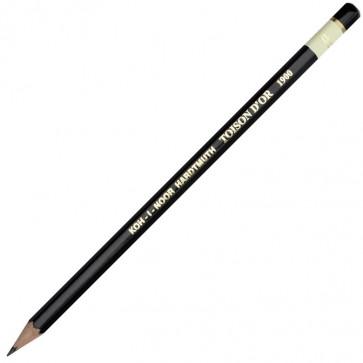 Creion cu mina grafit, 3B, hexagonal, KOH-I-NOOR