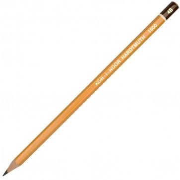 Creion cu mina grafit, 4B, hexagonal, KOH-I-NOOR