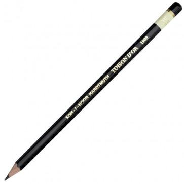 Creion cu mina grafit, 5B, hexagonal, KOH-I-NOOR