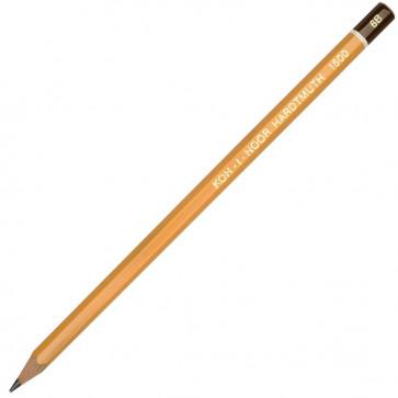 Creion cu mina grafit, 6B, hexagonal, KOH-I-NOOR