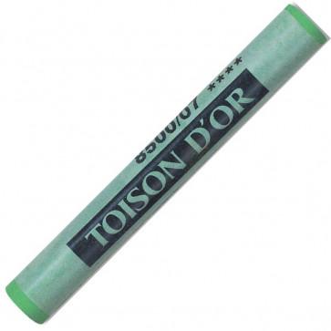 Creta color, verde inchis (dark permanent green), 12 buc/cutie, KOH-I-NOOR Toison D'or