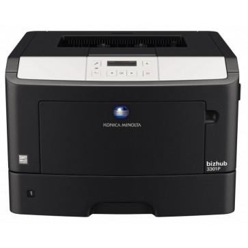 Imprimanta laser monocrom KONICA MINOLTA Bizhub 3301P, A4, USB, Retea