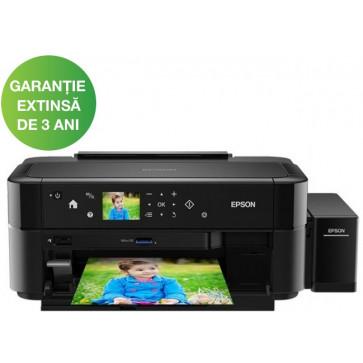 Imprimanta inkjet color EPSON L810 CISS, A4, USB, Retea, Wi-Fi