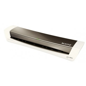 Laminator, A3, gri metalizat, Leitz iLAM Home Office