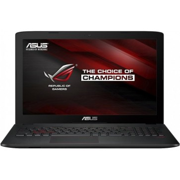 Laptop ASUS ROG GL552VW, 15.6''  FHD, Procesor Intel® Core™ i7-6700HQ 2.6GHz Skylake, 24GB DDR4, 1TB + 128GB SSD, GeForce GTX 960M 4GB, FreeDos, Black-Grey, versiunea metalica