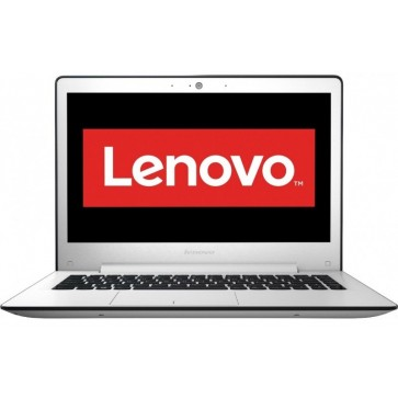 "Laptop LENOVO Ideapad 500S, 13.3"" FHD IPS, Procesor Intel® Core™ i3-6100U 2.30 GHz, 4GB, 500GB + 8GB SSH, Free DOS, White"