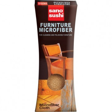 Laveta din microfibre pentru mobila, 35 x 35cm, SANO Furniture Microfiber Cloth
