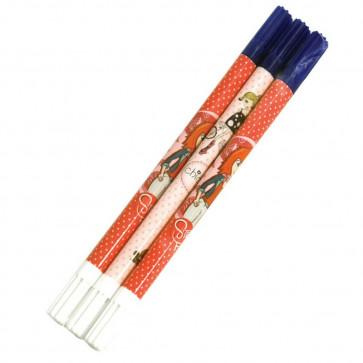 Creion corector, fete, 3 buc/blister, PIGNA School Friendly