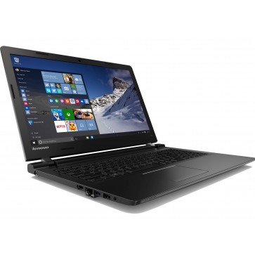 "Laptop LENOVO 100-15IBD, Intel® Core™ i3-5005U 2.0GHz, 15.6"", 4GB, 1TB, Intel® HD Graphics 5500, Windows 10"