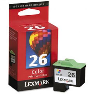 Cartus, color, nr. 26, LEXMARK 10N0026