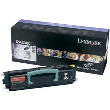 Toner, black, LEXMARK 12A8300/24036SE