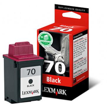 Cartus, black, nr. 70, LEXMARK 12AX970E
