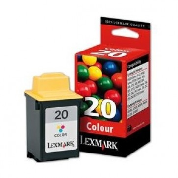 Cartus, color, nr. 20, LEXMARK 15MX120