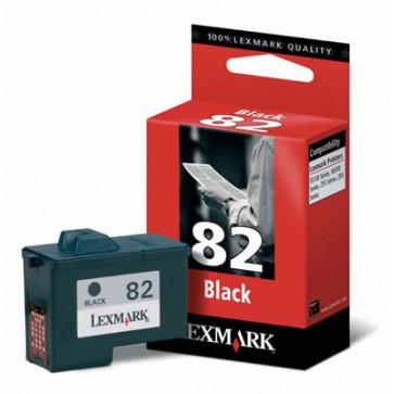 Cartus, black, nr. 82, LEXMARK 18L0032E