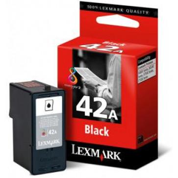 Cartus, black, nr. 42A, LEXMARK 18Y0342E