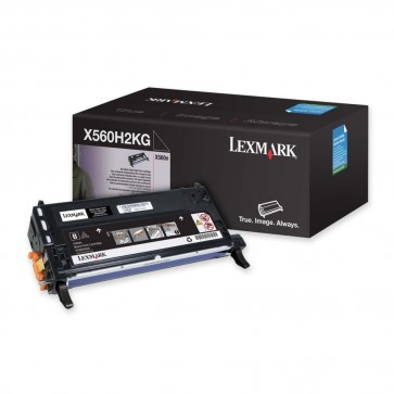 Toner, black, LEXMARK X560H2KG