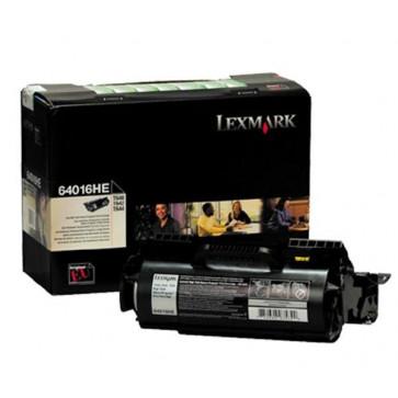 Toner, black, LEXMARK 64016HE