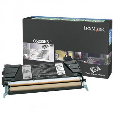 Toner, black, LEXMARK C5200KS