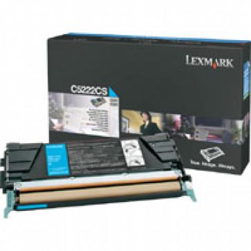 Toner, cyan, LEXMARK C5222CS