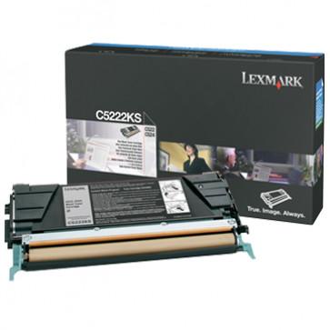 Toner, black, LEXMARK C5222KS