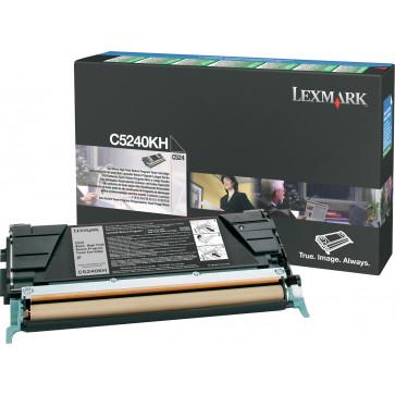 Toner, black, LEXMARK C5240KH