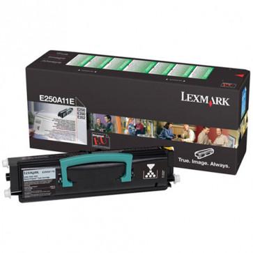 Toner, black, LEXMARK E250A11E