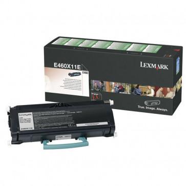 Toner, black, LEXMARK E460X11E