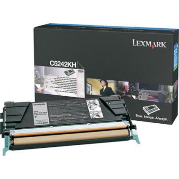 Toner, black, LEXMARK C5242KH