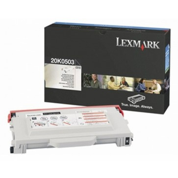 Toner, black, LEXMARK 20K0503