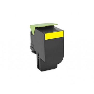 Toner, yellow, LEXMARK 70C0X10