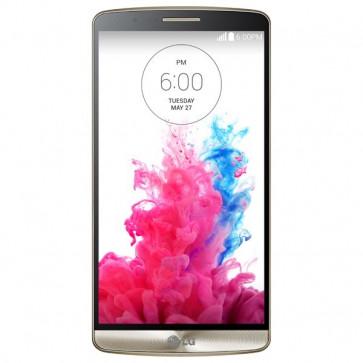 "Smartphone Dual Sim, 5.5"", 16GB, 13MP, 4G, Wi-Fi, Bluetooth, Gold, LG G3"