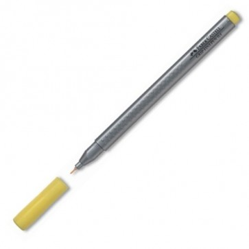 Liner, 0.4mm, galben, FABER CASTELL Grip