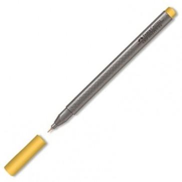Liner, 0.4mm, maro ocru, FABER CASTELL Grip